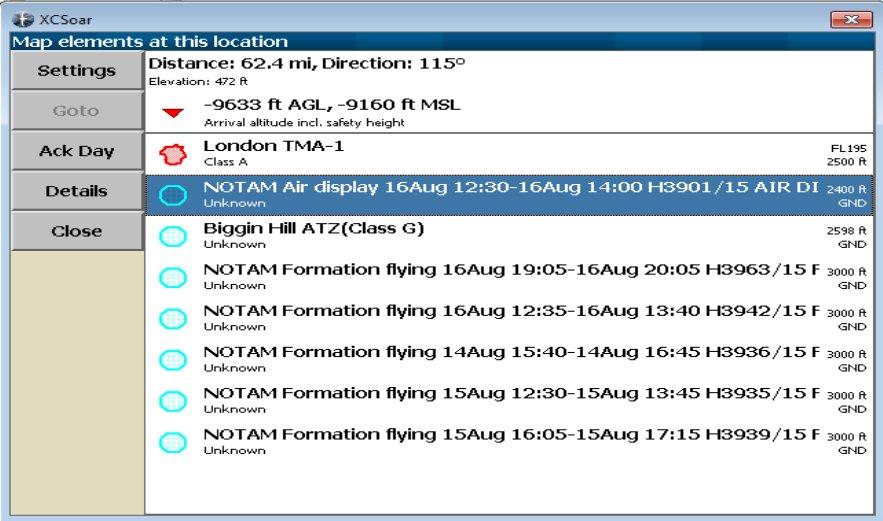 Exporting NOTAMs | NOTAM Info